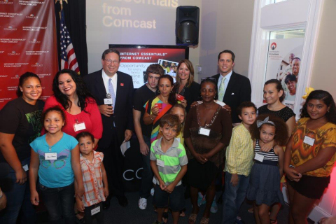 Comcast Launched year three of Internet Essentials with a surprise for 5 families that have recently ...