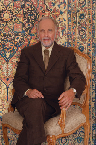 Claremont Rug Company founder Jan David Winitz calls attention to strong interest by art collectors in first-caliber antique Oriental rugs. (Photo: Business Wire)