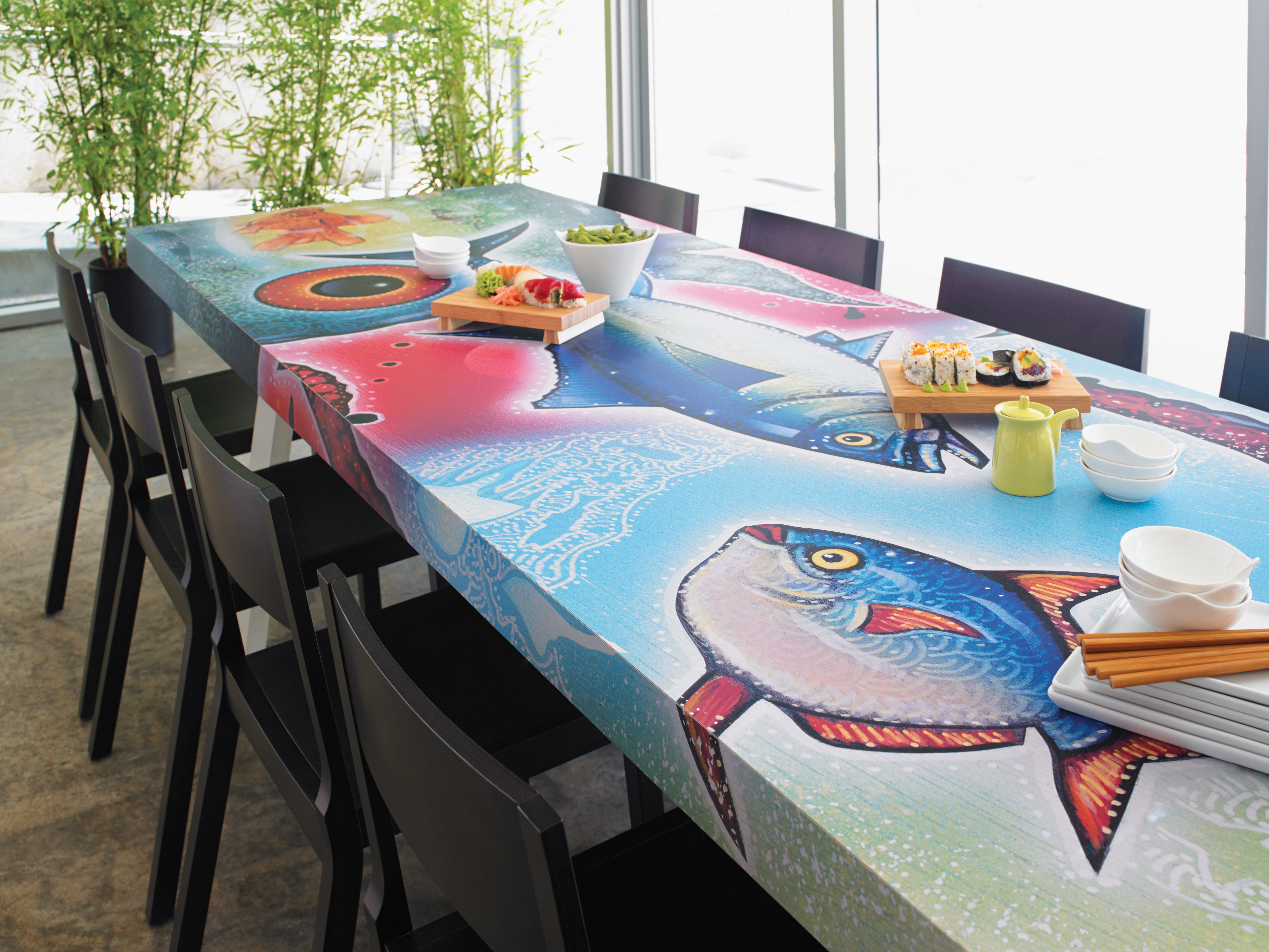 Formica Envision Brings Customizable Laminate to Interior Spaces