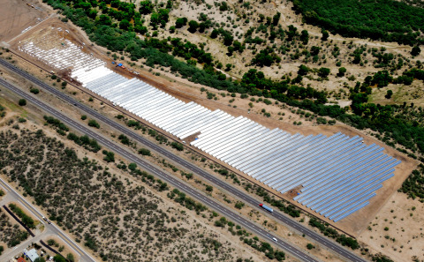 7.2 MWp project in Rio Rico, AZ Photo by Terry Ketron