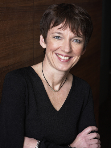 Dawn Airey, SVP Yahoo! EMEA (Photo: Business Wire)