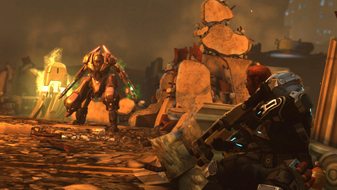 XCOM: Enemy Within takes the incredible experience from XCOM: Enemy Unknown and adds an array of new abilities, upgrades, and weapons to combat new enemy threats like the Mechtoid, pictured here. (Photo: Business Wire)