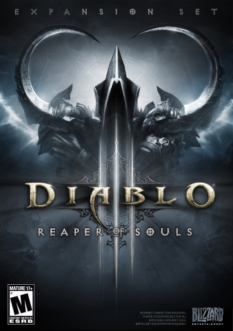 Diablo III: Reaper of Souls Front of Box (Graphic: Business Wire)
