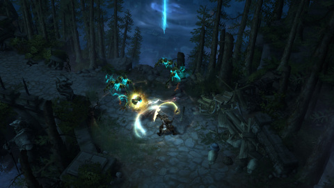 The new playable character class in Diablo III: Reaper of Souls, the Crusader, wears immensely heavy armor and wields a variety of cruel and punishing weapons. (Graphic: Business Wire)