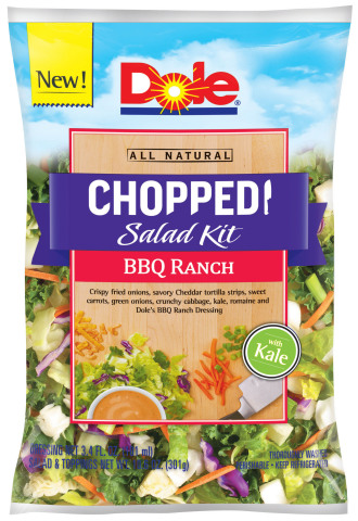 Dole BBQ Ranch Salad Kit (Photo: Business Wire)