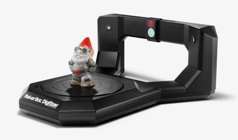 MakerBot introduces the MakerBot(R) Digitizer(TM) Desktop 3D Scanner, a fast and easy way to create  ...