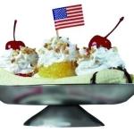 "Valley Dairy's 'All American Banana Split.'"" (Photo: Virginia Greubel)"