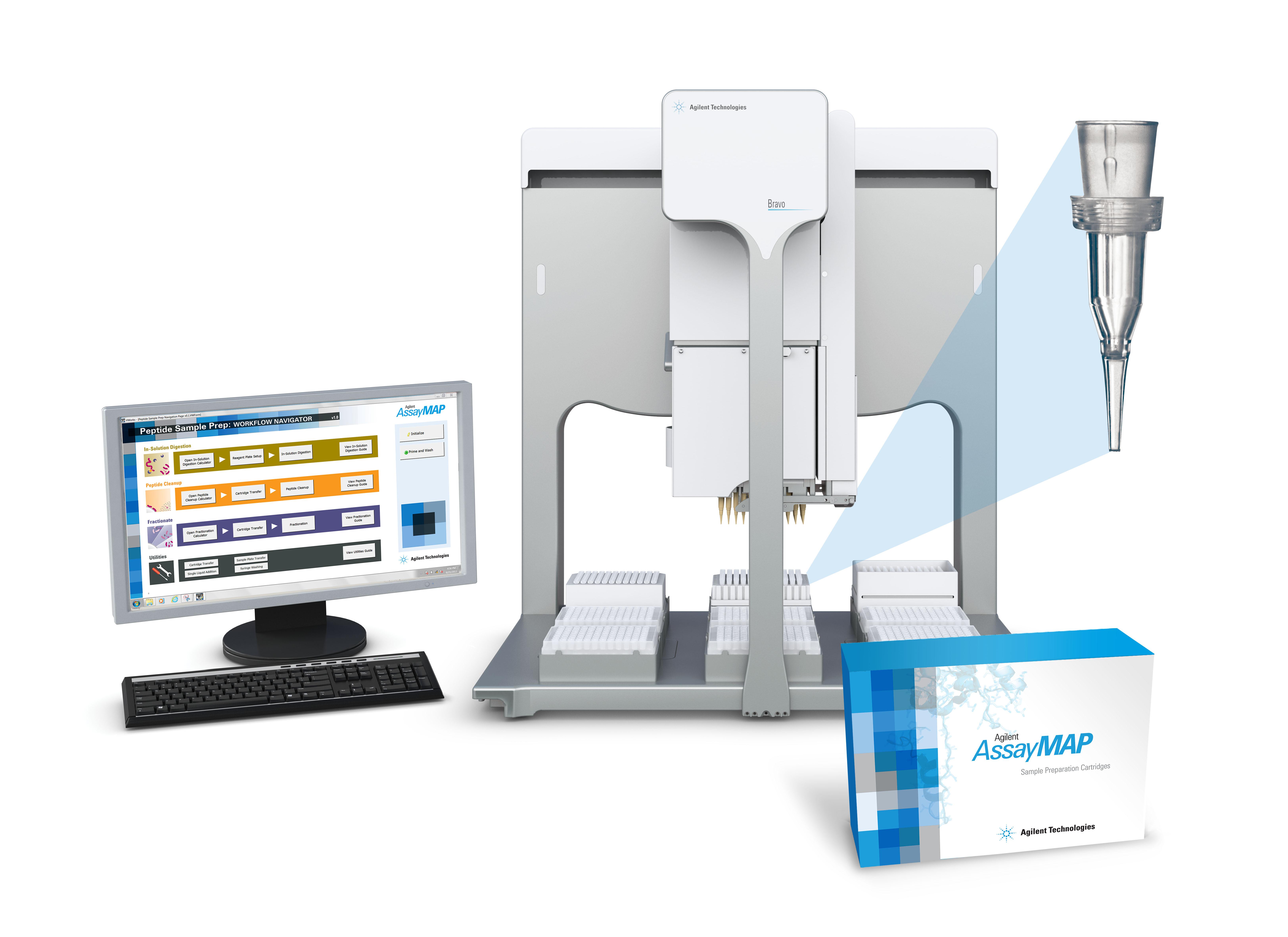 TRADE NEWS: Agilent Technologies Launches New AssayMAP Peptide ...