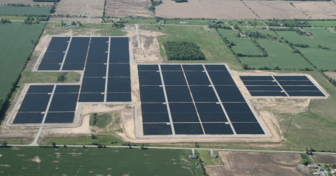 The 20MWAC Walpole Solar Power Plant is one of three solar projects in Ontario, Canada acquired by p ...