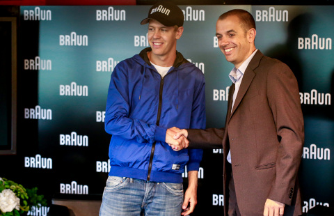 Sebastian Vettel announced as Braun's new ambassador (Photo: Business Wire)