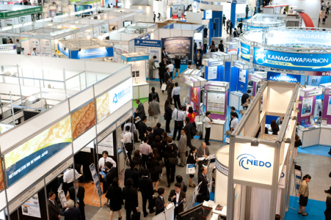 Scene at the BioJapan exhibition in 2012. (Photo: Business Wire)