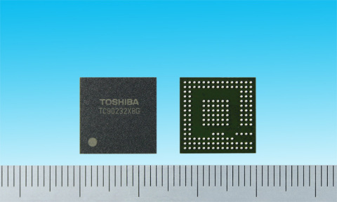 "Toshiba's ""TC90232XBG"", a high quality image processing IC for LCD TVs (Photo: Business Wire)"