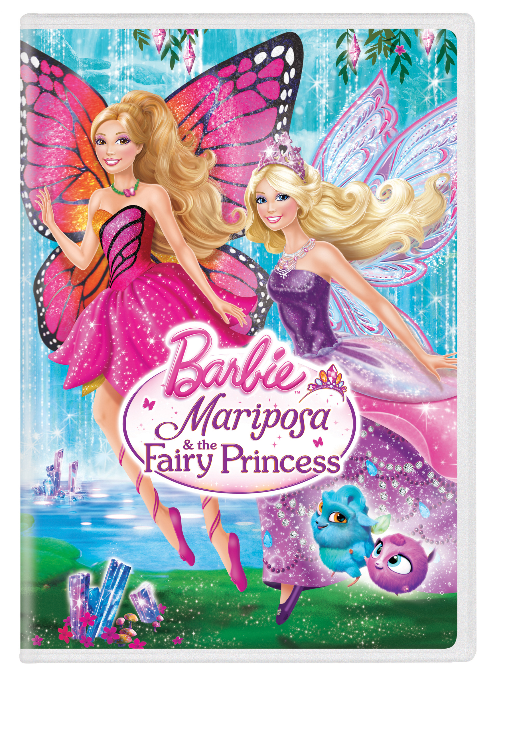 This fall, Barbie(R) flutters back into our hearts as Mariposa(TM), in the new movie Barbie(TM) Mariposa & the Fairy Princess, available now. As the 26th direct-to-DVD and Blu-ray(TM) combo pack release for the iconic doll, Barbie(R) is sure to enchant girls with this all-new tale of adventure and friendship. Mariposa(TM) is the royal ambassador sent to bring peace between her land, Flutterfield and its rival, the Crystal Fairies of Shimmervale. Despite a rocky start, Mariposa(TM) becomes fast friends with the princess Catania(TM).The adventure begins when Mariposa encounters an evil fairy plotting to destroy Shimmervale. Mariposa rushes to her friend's side to help save the fairy land and together they prove the best way to make a friend is to be a friend. Girls can create their own magical moments with a line of themed dolls and toys currently available at retailers nationwide. (Graphic: Business Wire)