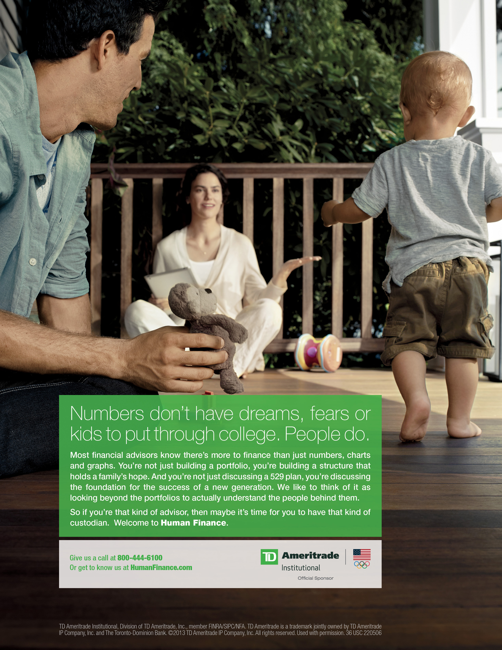 TD Ameritrade Institutional's New Marketing Campaign Gets