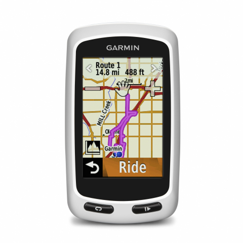 Garmin Edge Touring Plus (Photo: Business Wire)