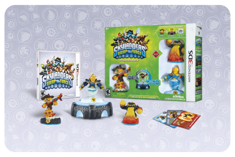 Skylanders SWAP Force 3DS Starter Pack Contents (Graphic: Business Wire)