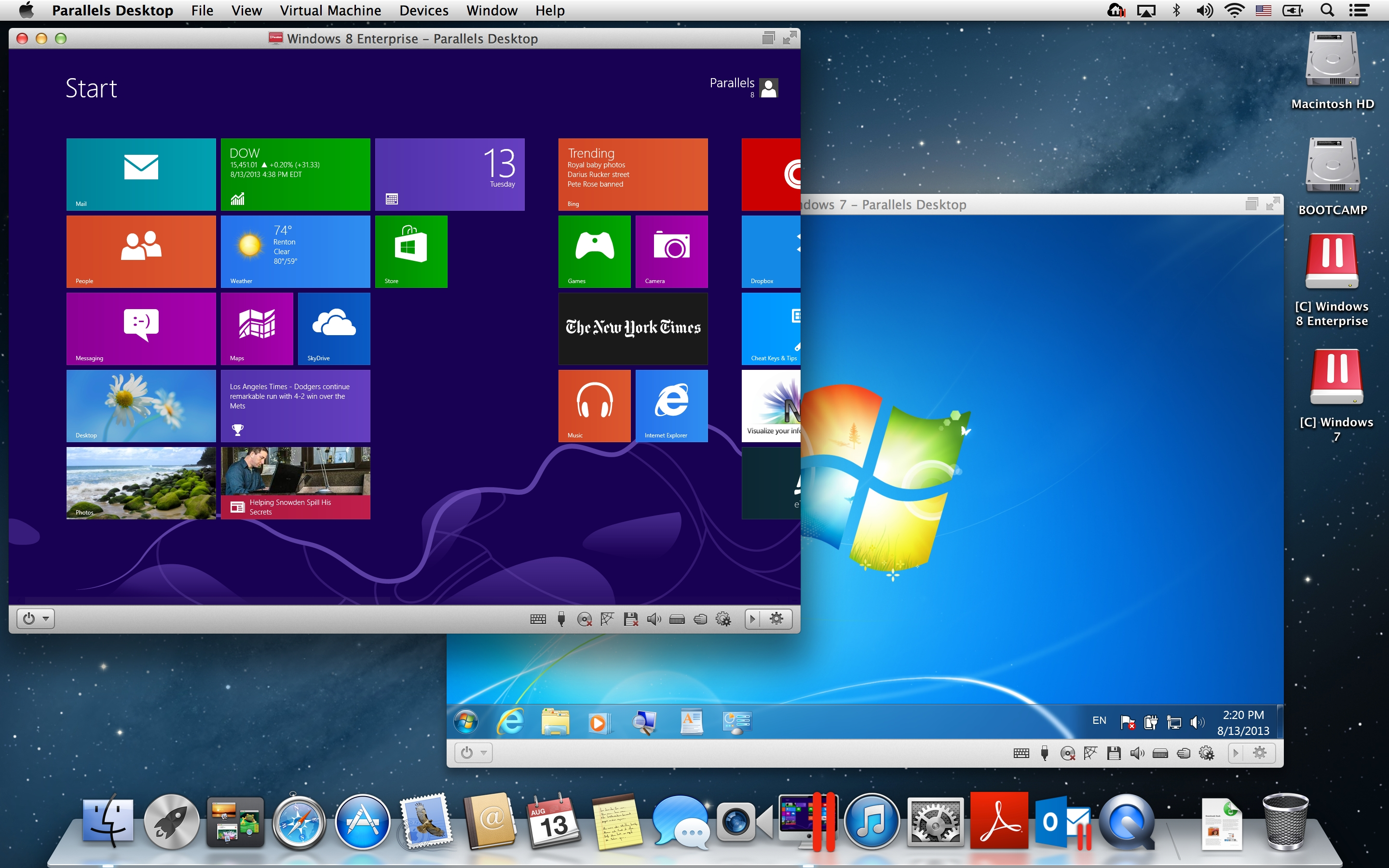 Run windows on mac: parallels desktop 12 for mac.