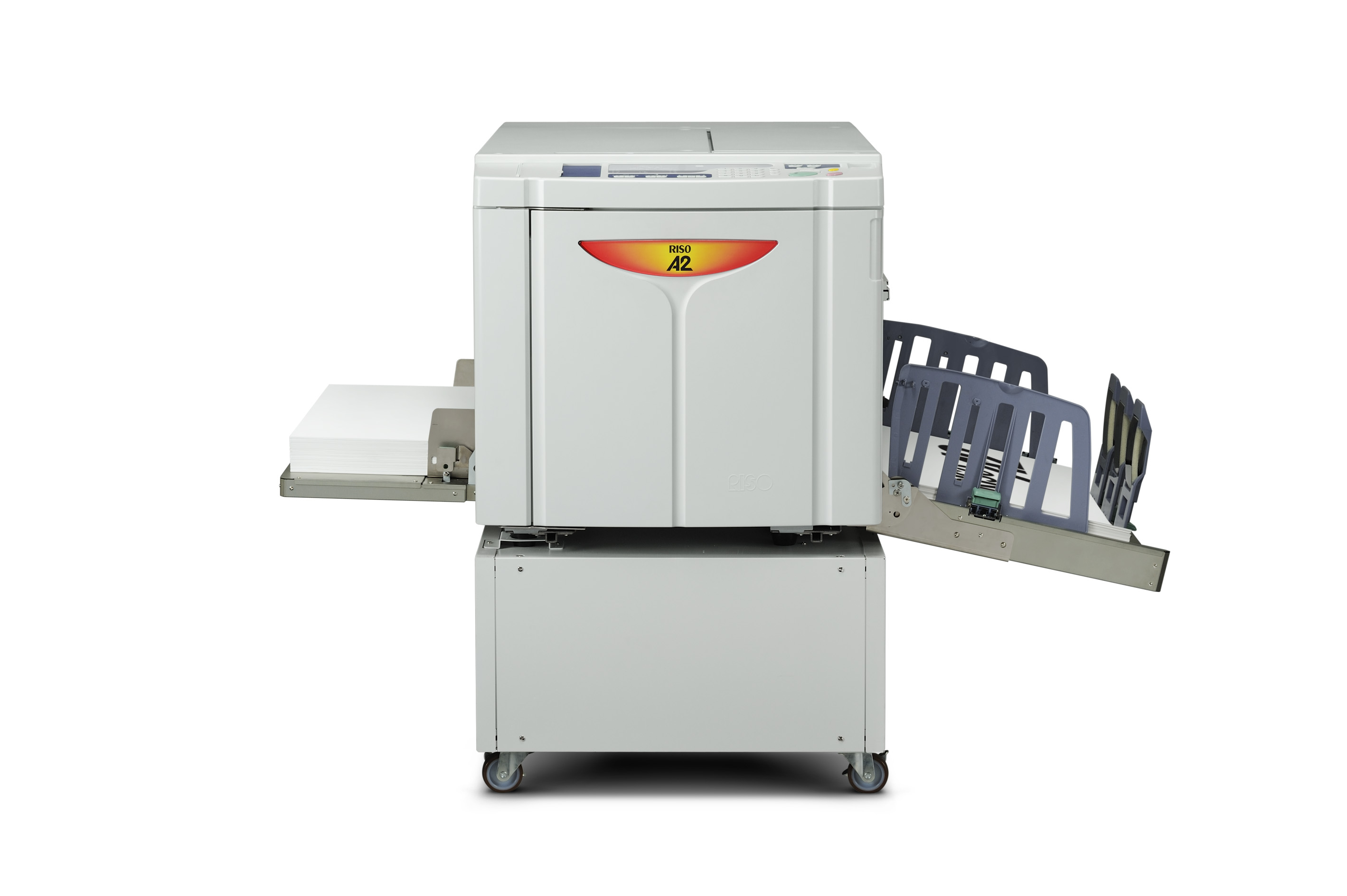 riso releases new digital duplicator for a2 size paper riso a2