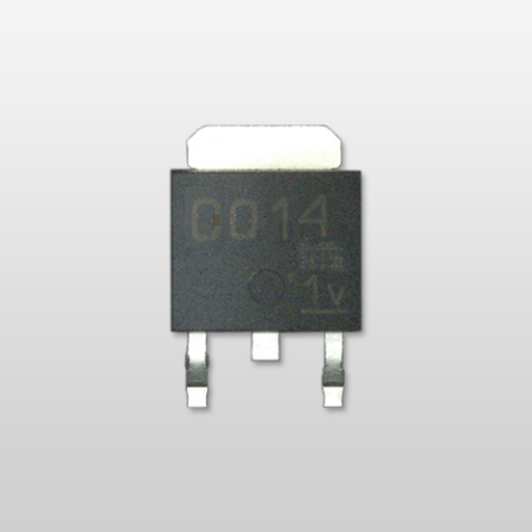 Toshiba 800V bipolar transistor for switching power supplies of mobile devices: TTC014 (Photo: Busin ...