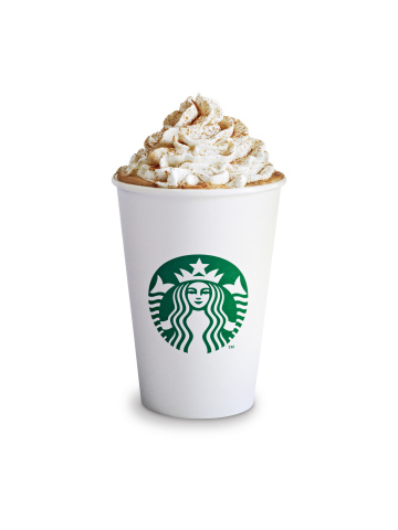 Starbucks(R) Pumpkin Spice Latte celebrates its 10th anniversary as a fall tradition. (Photo: Busine ...