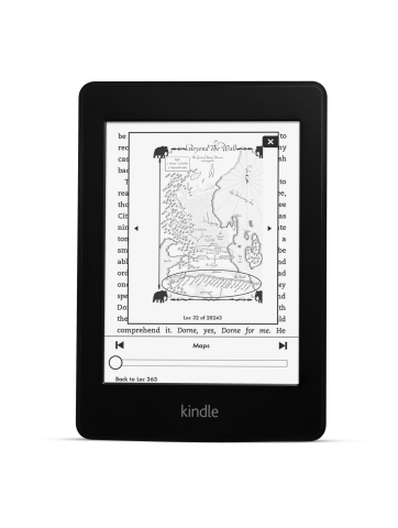 The all-new Kindle Paperwhite (Photo: Business Wire)