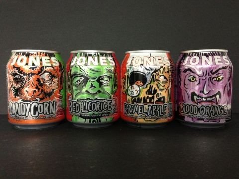 Jones Soda announces the return of Halloween 8oz cans, perfect for trick-or-treaters and available a ...