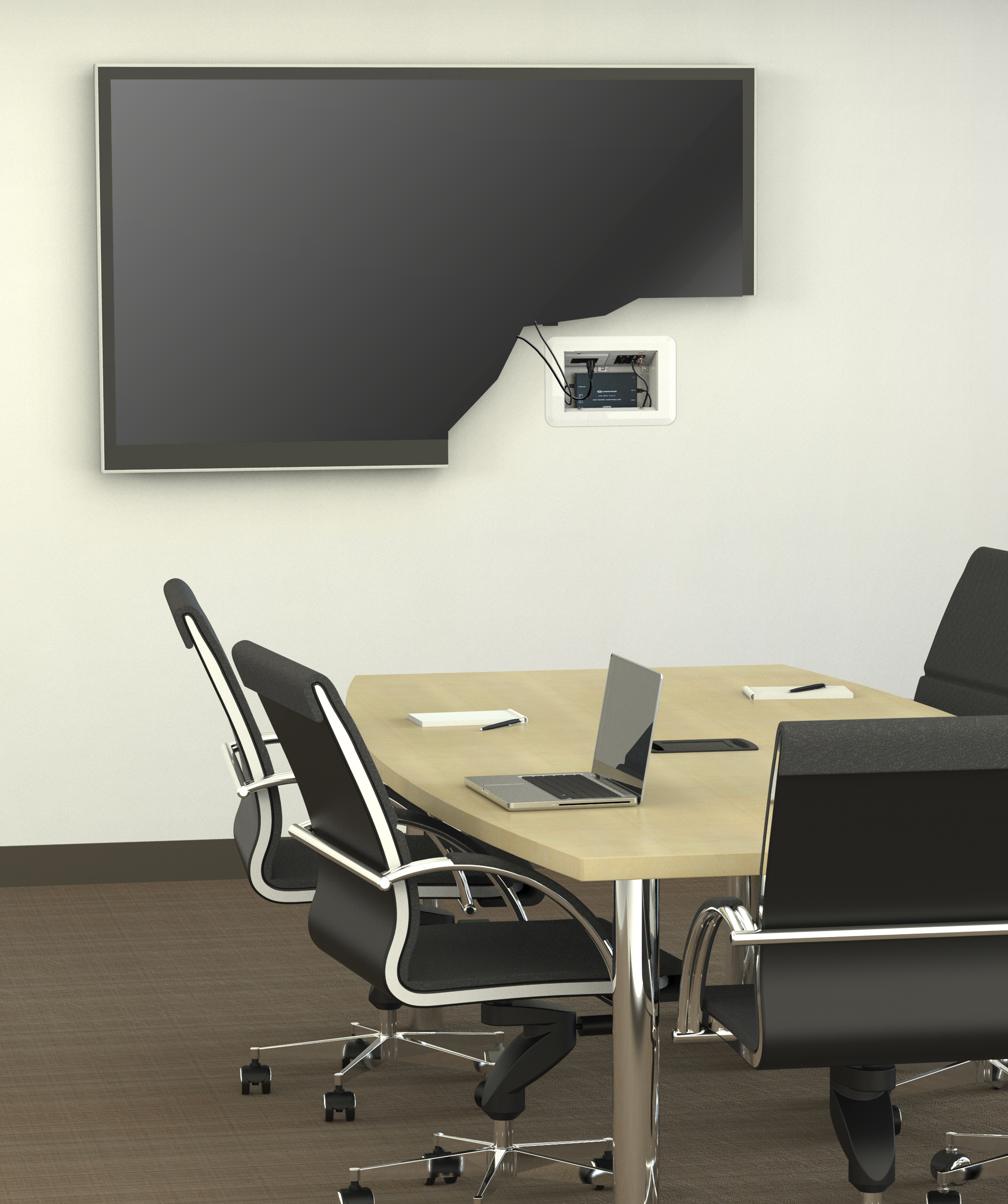 New Wiremold® Flat Screen Wall Box | Business Wire
