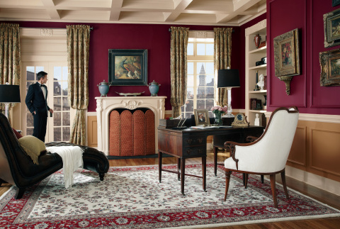 BEHR Paints Grand Reign Showcase a favorite room to reflect an exquisite residence from another plac ...