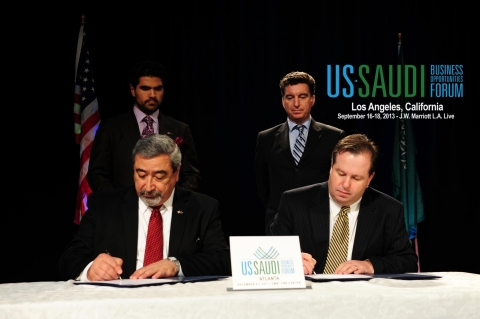 Memorandum of Understanding Being Signed at Last Forum in Atlanta [Media - Feel free to alter] (Photo: Business Wire)