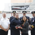 On Saturday at the Canadian Volunteer Fire Services Association (CVFSA) annual general conference Duracell announced that to celebrate the launch of