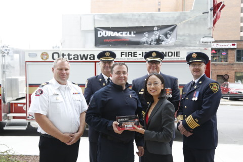 On Saturday at the Canadian Volunteer Fire Services Association (CVFSA) annual general conference Du ...