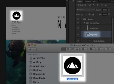 Adobe Generator - Real-time image asset generation using Photoshop CC (Graphic: Business Wire)
