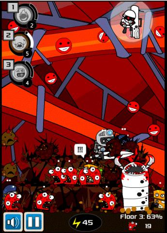 Screen shot from HopeLab's cancer fighting game Re-Mission 2: Nanobot's Revenge. (Graphic: Cigna)