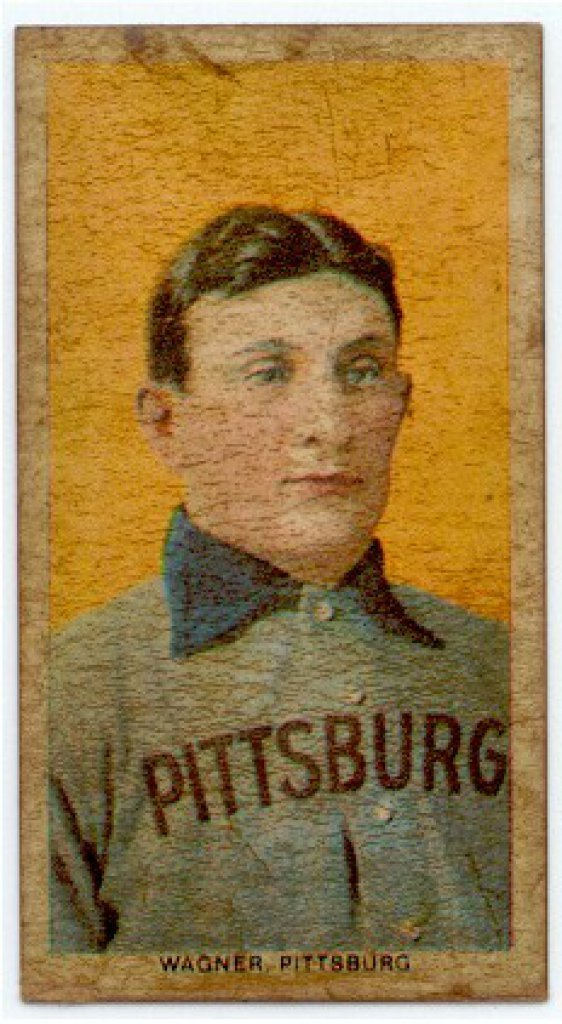 Controversial Cobb-Edwards 1909 Honus Wagner T206 Baseball Card to ...