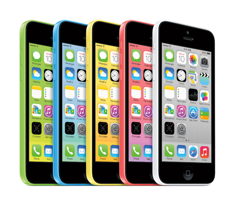 Apple introduces iPhone 5c, the Most Colorful iPhone Yet (Photo: Business Wire)