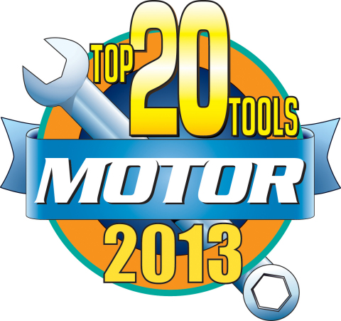 Motor Top 20 Tools 2013 Logo (Graphic: Business Wire)