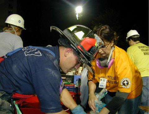 The Scientology Volunteer Ministers at Ground Zero New York inspired a global movement. Since September 11, 2001, Volunteer Ministers have served at more than 200 disaster sites. (Photo: Business Wire)