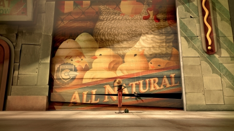 """Chipotle Mexican Grill launched """"The Scarecrow,"""" an arcade-style adventure game for iPhone, iPad and iPod touch, along with a companion animated short film of the same name. (Photo: Business Wire)"""