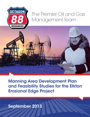 The purpose of the expanded development plan is to define the sum of Octagon 88's acquired projects with a review specifically targeting the Elkton Erosional Edge Project including geology, exploitation plans, economics, specific goals, timelines and expected deliverables. (Graphic: Business Wire)