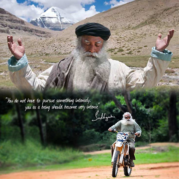 """Sadhguru J. Vasudev - humanitarian, master chef, author, golfer, adventurer and """"Modern Day Mystic"""" - will tour the U.S. this fall. His appearances will include a day-long celebration of International Peace Day at the Isha Foundation headquarters in McMinnville, Tenn. on September 21. (Graphic: Business Wire)"""