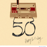 The Cassette Celebrates Its Golden Anniversary (Photo: Business Wire)