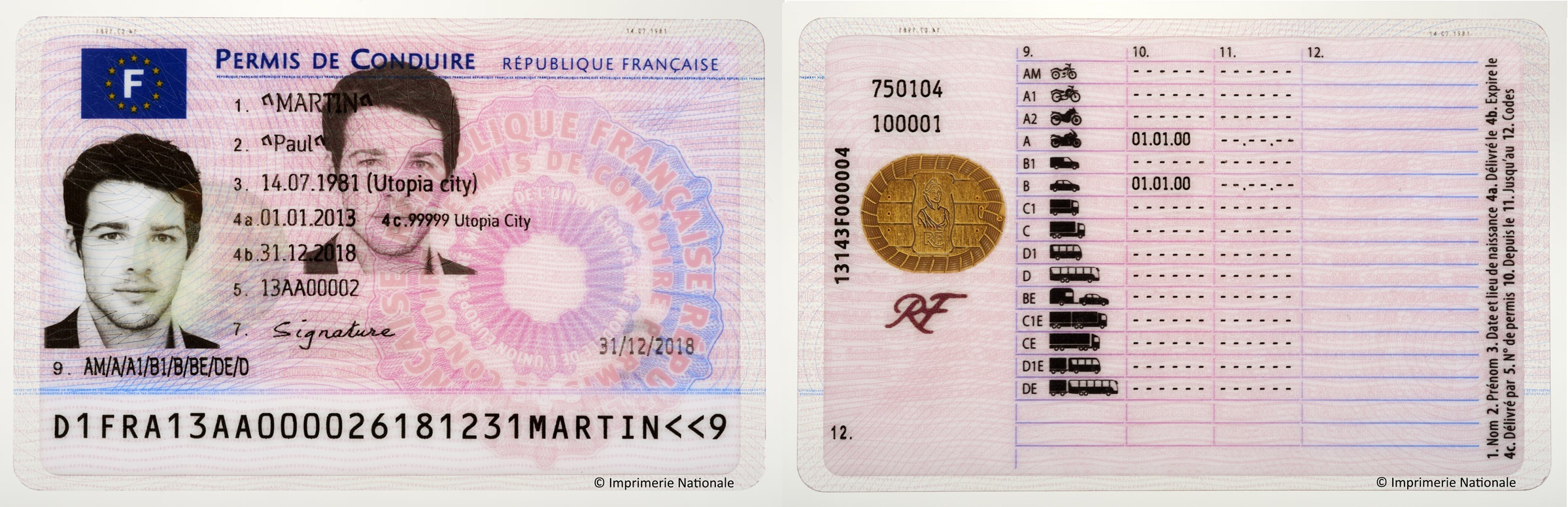 Electronic For Imprimerie Wire Driving French License Business The Nationale Selects Gemalto