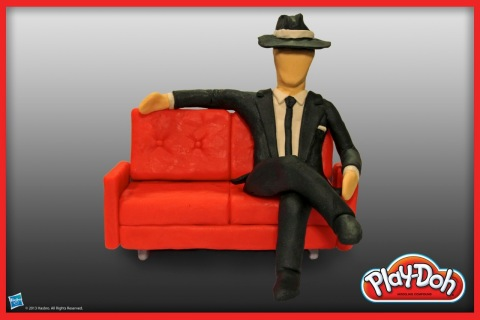 Everyone's favorite Madison Avenue ad executive is now in PLAY-DOH form! Hasbro Inc. and the PLAY-DOH brand have sculpted this Drama Series nominee out of 100% PLAY-DOH compound in celebration of National PLAY-DOH Day on September 16, 2013. Be sure to visit the PLAY-DOH Facebook page to check out the other five nominees: https://www.facebook.com/playdoh (Photo: Business Wire)