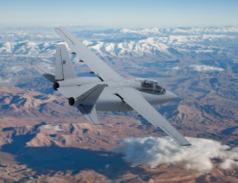 Scorpion ISR/Strike twin-jet tactical aircraft developed by Textron AirLand. (Photo: Business Wire)