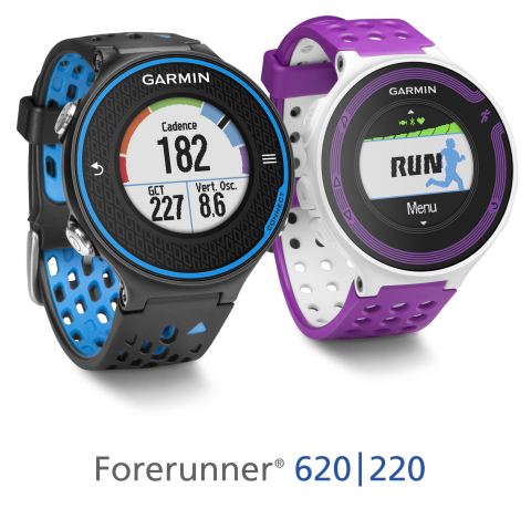 Garmin Forerunner 620 and 220 (Photo: Business Wire)