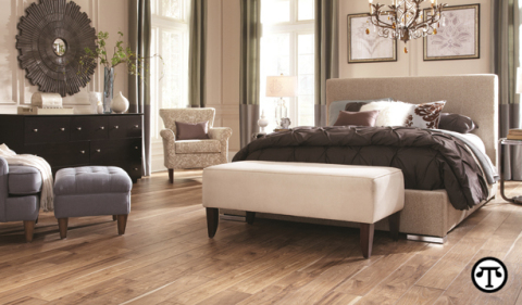 Photo courtesy of MANNINGTON MILLS. Knowing the facts about different materials can help you choose the right flooring for your lifestyle.