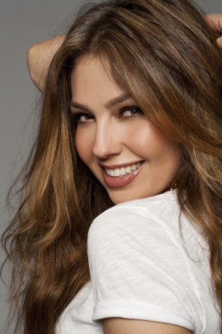 Macy's celebrates Hispanic Heritage Month with special events honoring Latina superstar, Thalia. (Ph ...