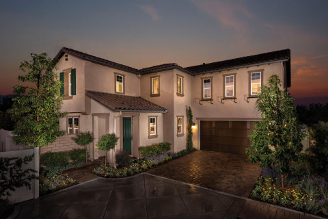 A model home at KB Home's Sheridan at Parkside community in Ontario, Calif. (Photo: Business Wire)