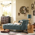 Emily & Meritt for PBteen- The Denim Chaise (Photo: Business Wire)
