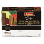 Le Cafe Metropolitan Blend, a dark roast coffee, the perfect blend for those fond of strong and bold notes (Photo: Business Wire)